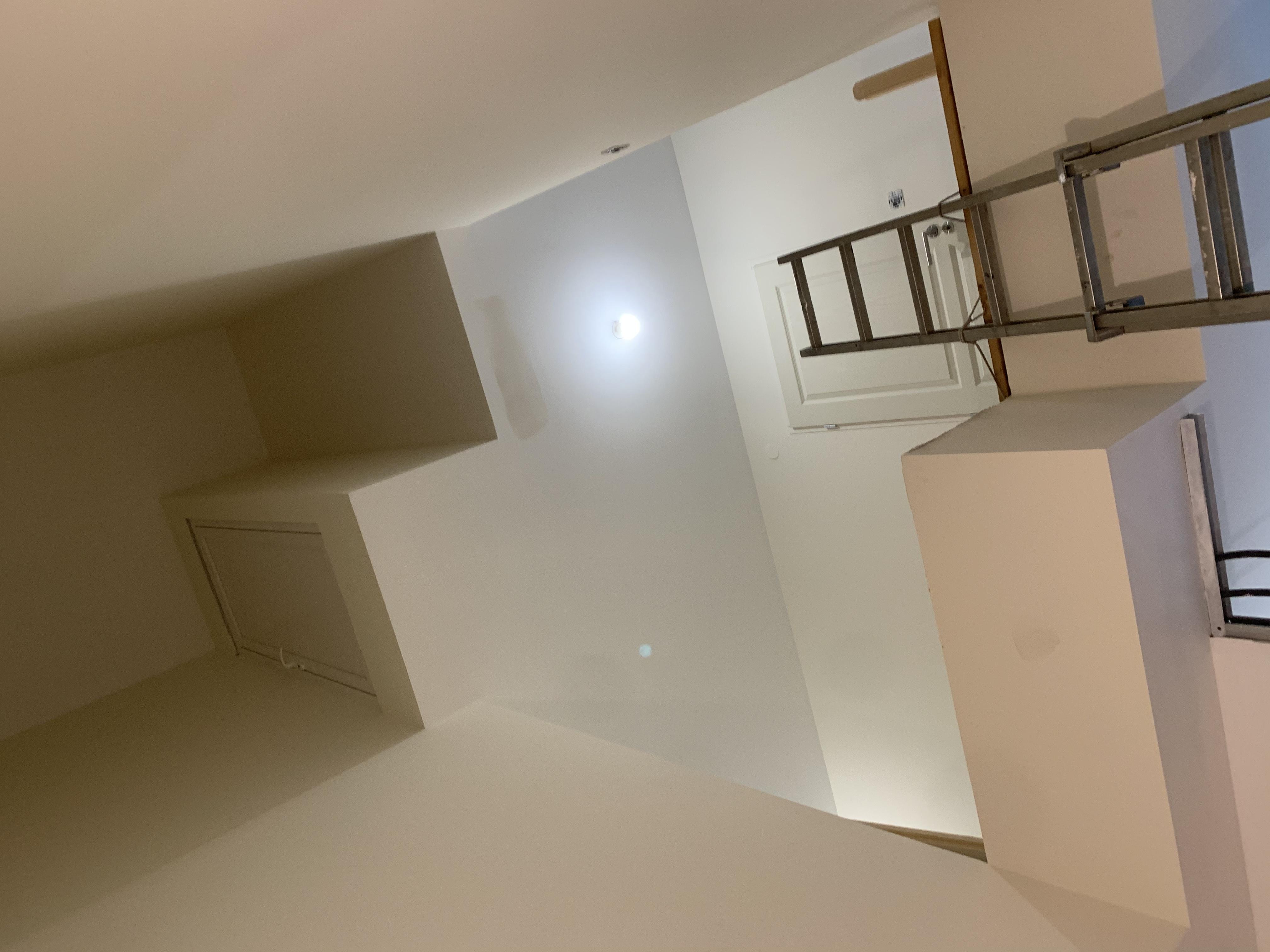 Escalier en hêtre sur deux niveaux à Chissey sur Loue (39)