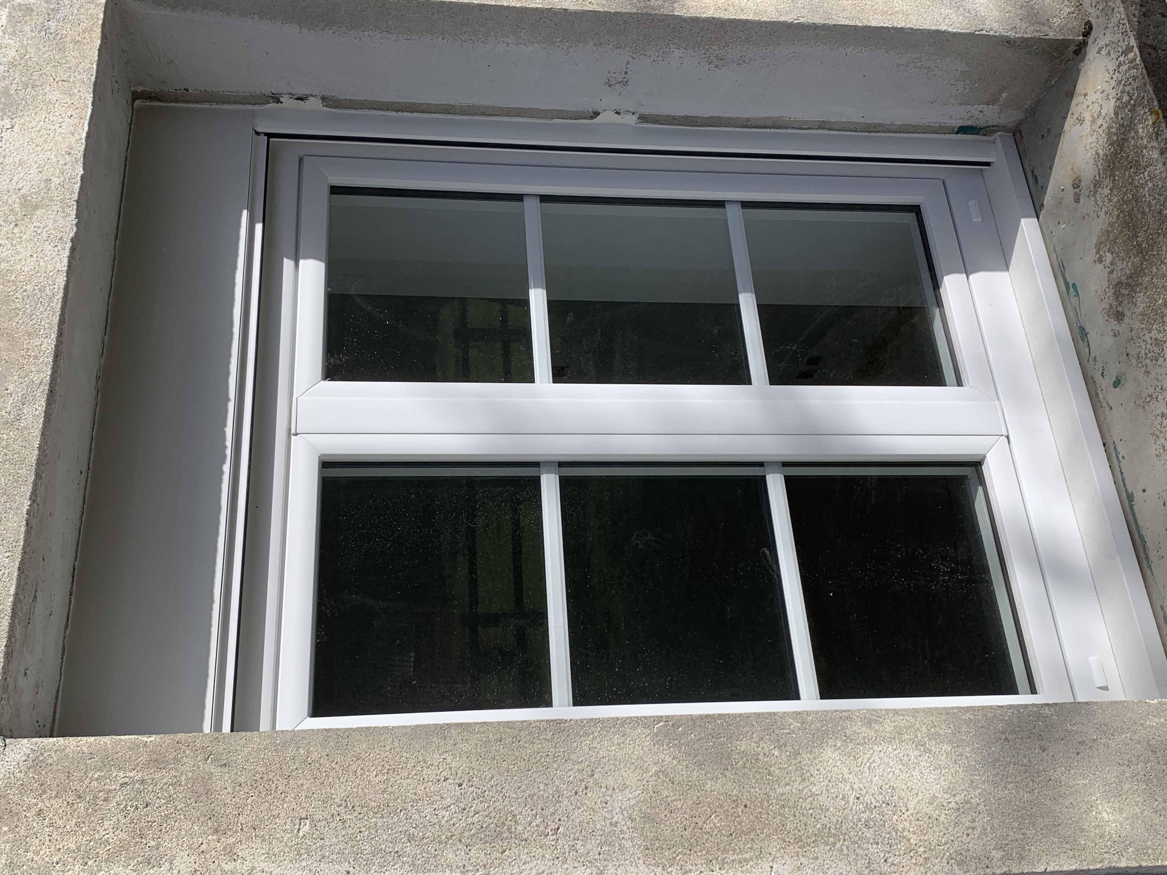 Fenêtre en PVC à Chissey sur Loue. (39)