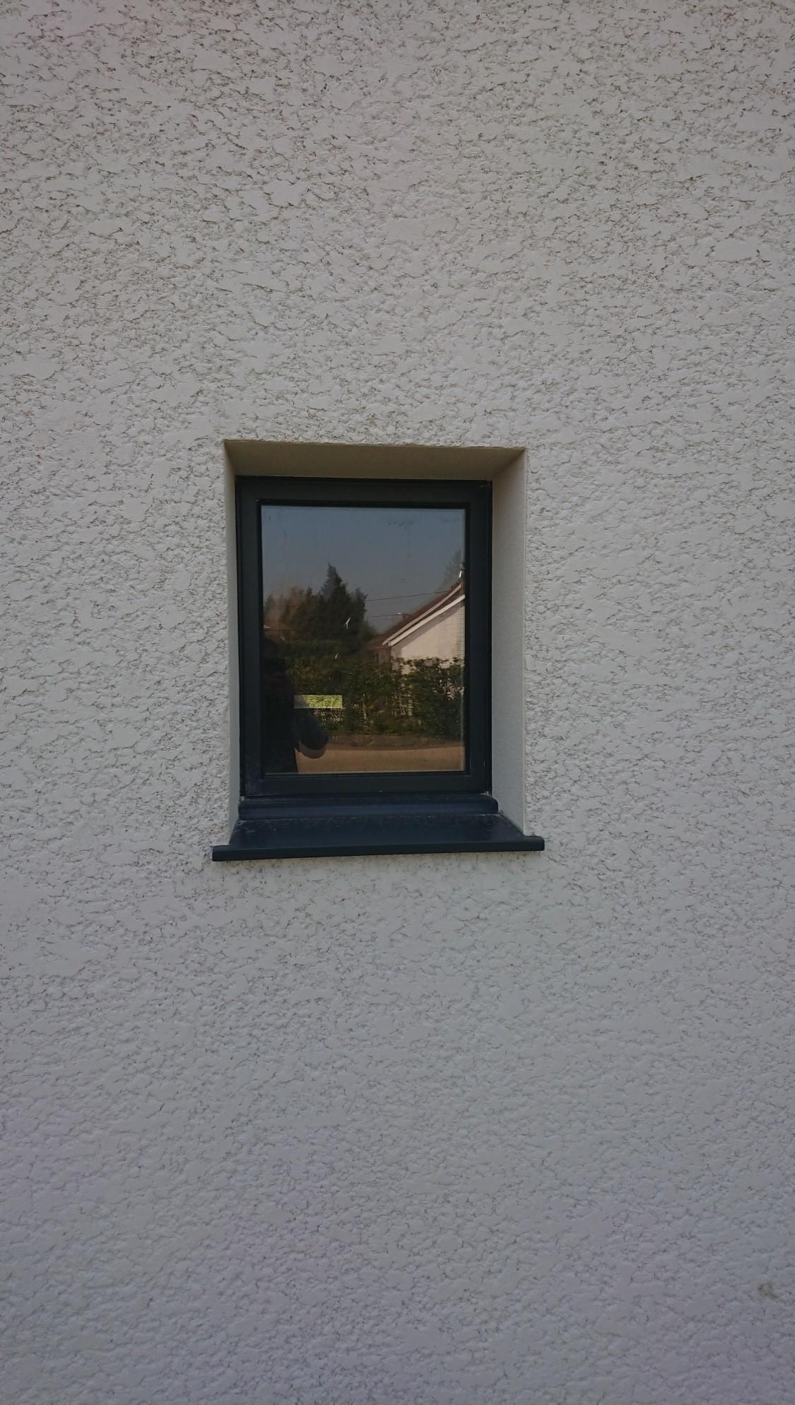 Fenêtre en Alu 1 vantail en Gris Anthracite