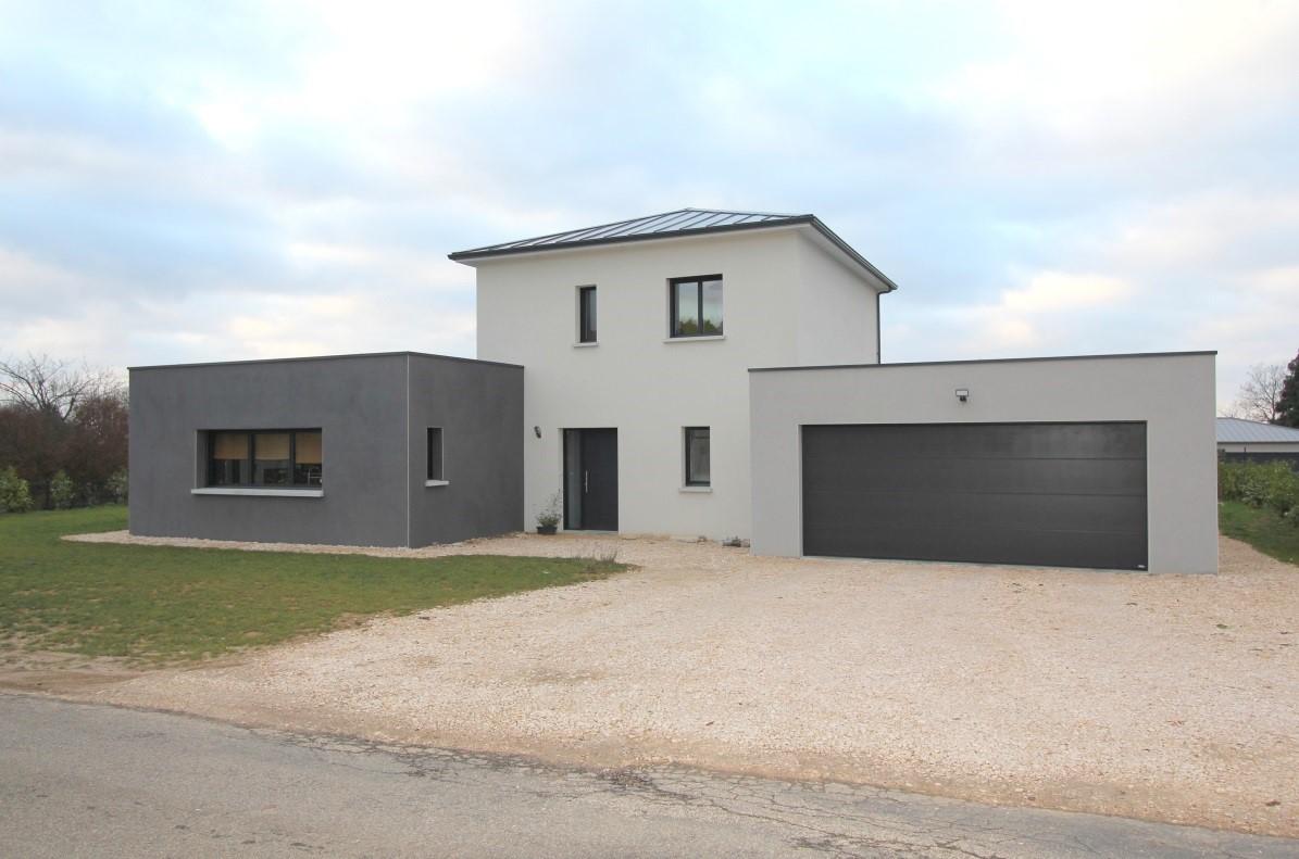 Maison complète en Alu Gris Anthracite de chez K-LINE